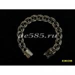 Cеребряный браслет королевская мантия 44 грамма 20 см