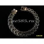 Серебряный браслет рамзес 38 грамм 21 см
